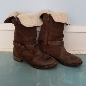 Pajar Foldover Leather Boots